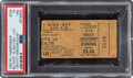 """Football Collectibles:Tickets, 1958 NFL Championship Game Colts vs. Giants Ticket Stub, PSA PR 1 (MK) - """"Greatest Game Ever Played"""". ..."""