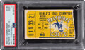 Football Collectibles:Tickets, 1959 NFL Championship Game Colts vs. Giants Ticket Stub, PSA Good 2 - Yellow Variation....