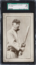 Baseball Cards:Singles (Pre-1930), 1907-09 PC805 Novelty Cutlery Ty Cobb SGC 50 VG/EX 4....
