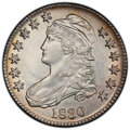 Bust Half Dollars: , 1830 50C Small 0 -- Cleaning -- PCGS Genuine. AU Details. Mintage 4,764,800. ...
