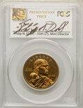 2000-P SAC$1 Goodacre Presentation SP67 PCGS. April 5, 2000. Philip N. Diehl Signature. PCGS Population: (1404/789). NG...
