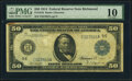 Large Size:Federal Reserve Notes, Fr. 1042 $50 1914 Federal Reserve Note PMG Very Good 10.. ...