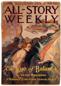 Pulps:Adventure, All Story Weekly - January 17, 1920 (Munsey) Condition: VG+....
