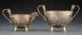 Silver & Vertu, A Gorham Mfg. Co. Isis Pattern Partial Gilt Silver Sugar Bowl and Creamer, Providence, Rhode Island, 1871. Marks... (Total: 2 )
