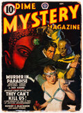 Pulps:Horror, Dime Mystery Magazine - September 1941 (Popular) Condition: VG+....