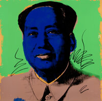 Andy Warhol (1928-1987) Mao, 1972 Screenprint in colors on Beckett High White paper 36 x 36 inche
