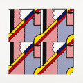 Prints & Multiples, Roy Lichtenstein (1923-1997). Modern Print, 1971. Lithograph and screenprint in colors on Arjomari paper. 31 x 31 inches...