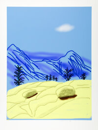 David Hockney (b. 1937) Untitled No. 24, from The Yosemite Suite, 2010 iPad drawing in co