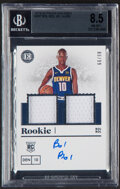 Basketball Cards:Singles (1980-Now), 2019-20 Panini Encased Bol Bol Jersey Autograph #267 BGS NM-MT+ 8.5, Auto 9 - Serial Numbered 88/99....