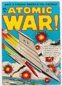 Atomic War! #4 (Ace, 1953) Condition: VG