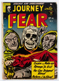 Golden Age (1938-1955):Horror, Journey Into Fear #15 (Superior Comics, 1953) Condition: GD/VG....