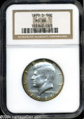 Kennedy Half Dollars: , 1970-D MS66 NGC. ...