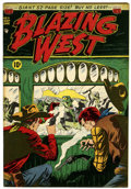 Golden Age (1938-1955):Western, Blazing West #11 New Hampshire pedigree (ACG, 1950) Condition: VF/NM....