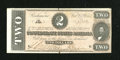 Confederate Notes:1864 Issues, T70 $2 1864. . ...