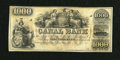 Obsoletes By State:Louisiana, New Orleans, LA- Canal Bank $1000 18__. ...