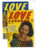 Golden Age (1938-1955):Romance, Love Lessons #4 and 5 Group (Harvey, 1950) Condition: AverageVF.... (Total: 2 Comic Books)