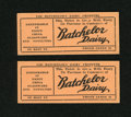 Obsoletes By State:Colorado, Canon City, CO- Batchelor Dairy Tickets. ... (Total: 2 items)
