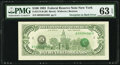 Error Notes:Third Printing on Reverse, Third Printing on Back Error Fr. 2174-B $100 1993 Federal Reserve Note. PMG Choice Uncirculated 63 EPQ.. ...