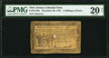 Colonial Notes:New Jersey, New Jersey December 20, 1783 3s 9d PMG Very Fine 20 Net.. ...