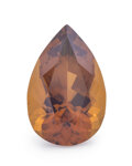 Gems:Faceted, Gemstone: Citrine - 10.31 Cts.. DR Congo. 19.25 x 12.56 x 9.08 mm. ...
