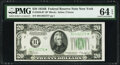 Small Size:Federal Reserve Notes, Fr. 2056-B* $20 1934B Federal Reserve Star Note. PMG Choice Uncirculated 64 EPQ.. ...