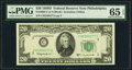 Small Size:Federal Reserve Notes, Fr. 2063-C $20 1950D Federal Reserve Note. PMG Gem Uncirculated 65 EPQ.. ...