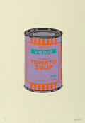 Prints & Multiples, Banksy (b. 1974). Soup Can (Violet/Orange/Mint), 2005. Screenprint in colors on wove paper. 19-5/8 x 13-7/8 inches (49.8...