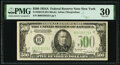 Fr. 2202-B $500 1934A Federal Reserve Note. PMG Very Fine 30