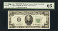 Small Size:Federal Reserve Notes, Fr. 2061-B* $20 1950B Federal Reserve Star Note. PMG Gem Uncirculated 66 EPQ.. ...