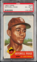 Baseball Cards:Singles (1950-1959), 1953 Topps Satchell Paige #220 PSA EX-MT+ 6.5....
