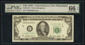 Small Size:Federal Reserve Notes, Fr. 2158-C $100 1950A Federal Reserve Note. PMG Gem Uncirculated 66 EPQ.. ...