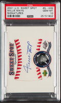 Baseball Cards:Singles (1970-Now), 2001 UD Sweet Spot Signatures Willie Mays #S-WM PSA Gem Mint 10. ...