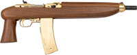 Elvis Presley Owned and Fired Universal Enforcer Model Semi-Automatic Carbine Pistol with Sonny West Letter