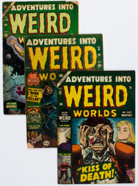 Adventures Into Weird Worlds Group of 6 (Atlas, 1952-54).... (Total: 6 )