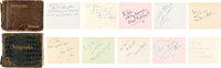 Hollywood Stars Collection of Signatures in Two Autograph Books
