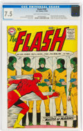 Silver Age (1956-1969):Superhero, The Flash #105 (DC, 1959) CGC VF- 7.5 Light tan to off-white pages....