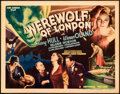 "Movie Posters:Horror, Werewolf of London (Universal, 1935). Fine/Very Fine. Title Lobby Card (11"" X 14"").. ..."