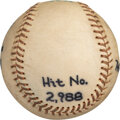 Baseball Collectibles:Balls, 1974 Al Kaline Game 2,988th Hit Ball from The Bill Fundaro Collection....