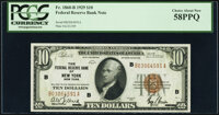 Fr. 1860-B $10 1929 Federal Reserve Bank Note. PCGS Choice About New 58PPQ
