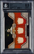 Baseball Cards:Singles (1970-Now), 2008 Topps Triple Threads Lou Gehrig (Sepia) Bat Relic #TTR-235 BGS NM-MT+ 8.5 - Serial Numbered 8/27....