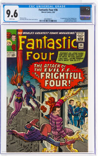 Fantastic Four #36 (Marvel, 1965) CGC NM+ 9.6 White pages