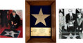 Movie/TV Memorabilia:Awards, Robert Mitchum 'Walk of Fame' Presentation Plaque (1984). ...