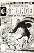 Original Comic Art:Covers, Jim Starlin Doctor Strange #25 Cover Original Art (Marvel, 1977)....