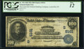 Louisville, KY - $100 1902 Plain Back Fr. 704 The Louisville National Banking Company Ch. # (S)5161 PCGS Fine 12