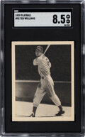 Baseball Cards:Singles (1930-1939), 1939 Play Ball Ted Williams #92 SGC NM-MT+ 8.5 - Pop Four, None Higher....