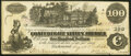 Confederate Notes:1862 Issues, T39 $100 1862 Very Fine.. ...