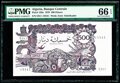World Currency, Algeria Banque Centrale d'Algerie 500 Dinars 1970 Pick 129a PMG Gem Uncirculated 66 EPQ.. ...