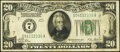 Small Size:Federal Reserve Notes, Fr. 2050-G $20 1928 Federal Reserve Note. Fine-Very Fine.. ...