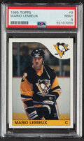 Hockey Cards:Singles (1970-Now), 1985 Topps Mario Lemieux #9 PSA Mint 9....