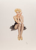 Pin-Up and Glamour Art, Alberto Vargas (Peruvian/American, 1896-1982). Cover Girl, 1988. ...